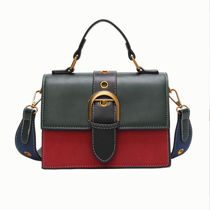 76bd5bd4ea98c Großhandel Weibliche Marke Hand Handtaschen Frau Messenger Bags Dame Rivet  Kette Damenmode Leder Umhängetasche Mädchen Crossbody Taschen 3S047 Von  Clmendlor ...