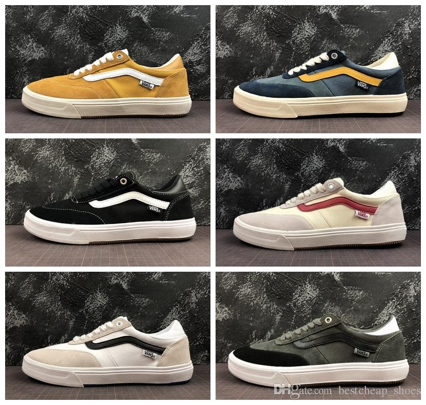 ba3e4cd423fd52 2019 New Vans Gilbert Crockett 2 Pro Old Skool Men Casual Shoes Skate  Canvas Sports Mens Running Shoes Designer Vans Sneakers Trainer Size 36 45  From ...