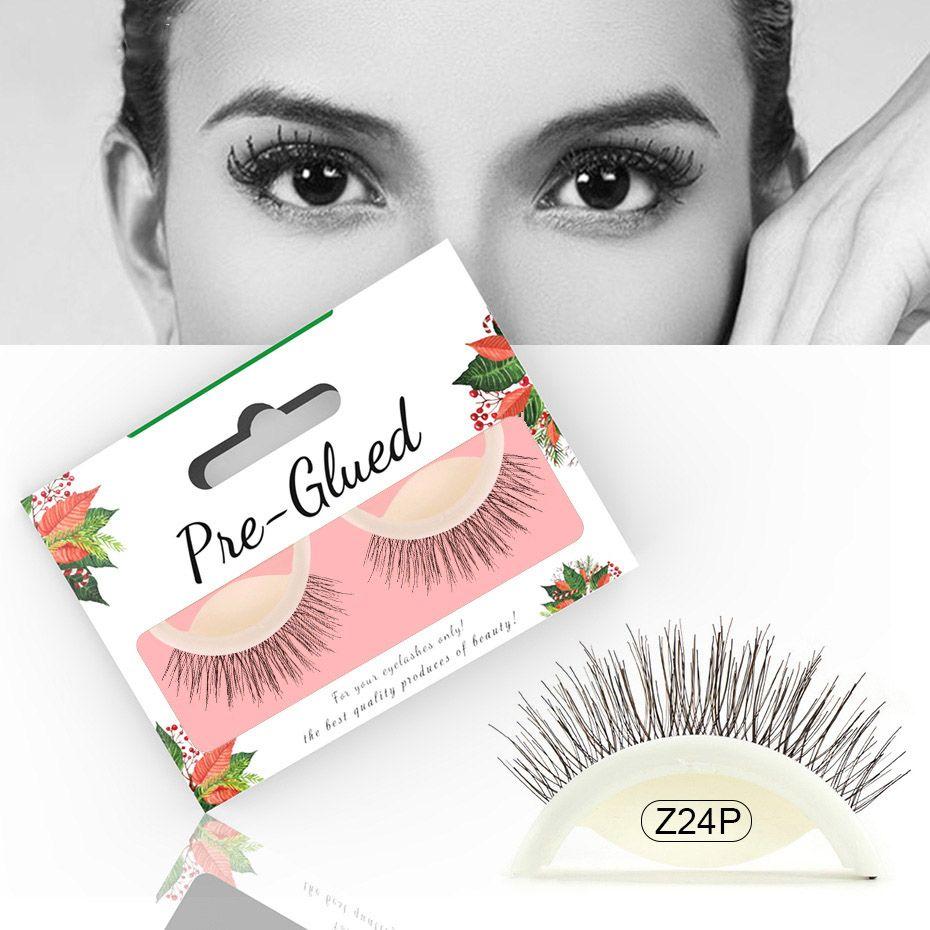 fc056fc1345 New Arrival Self Adhesive 3D False Eyelashes Natural Long Lashes Volume  Reusable Soft Lashes Eyelash 4 Styles Hot Selling Eyelash Extensions Reviews  How To ...