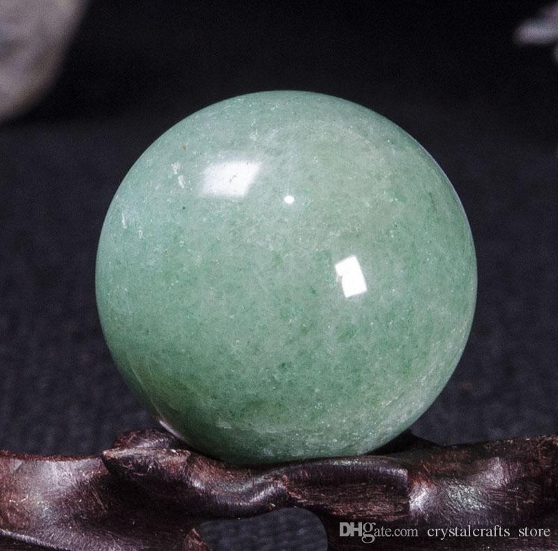 Free shipping 100% Best Natural Green Aventurine Crystal Quartz Sphere Ball Orb Gemstone healing for Christmas decoration