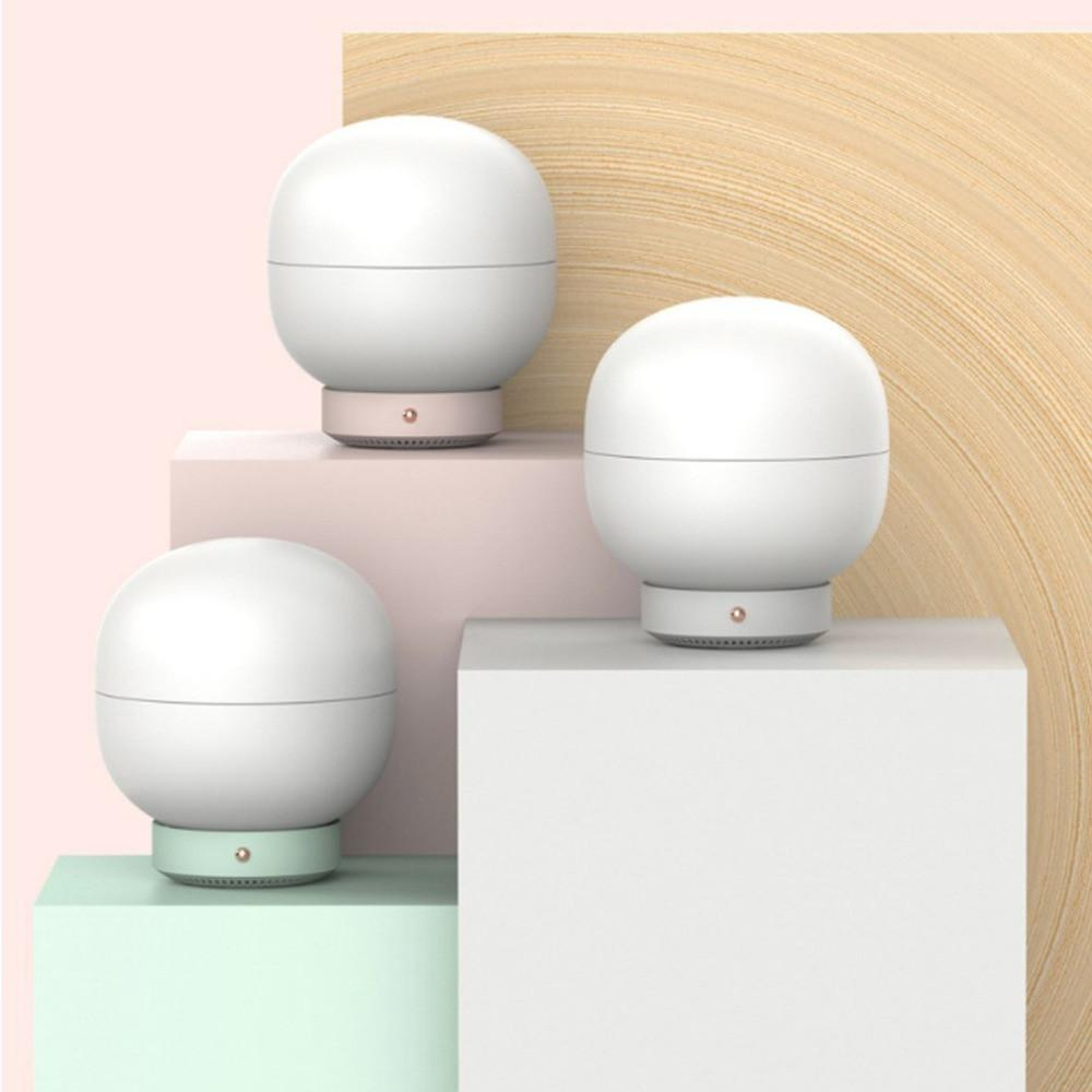 Multifunction 500ml Bubble Aromatherapy Machine Air Humidifier Essential Oil Diffuser Atomizer LED Night Light Table Lamp