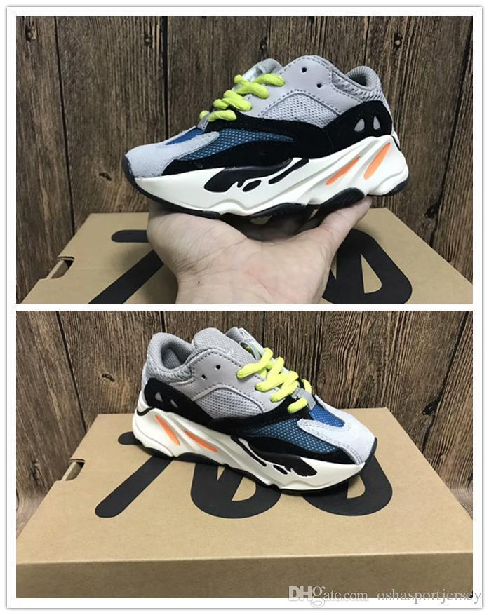 9f22e230cf4a0 Kids Sneakers Kanye West Wave Runner 700 Running Shoes Children 700 Sports  Toddler Shoes Casual Online with  95.81 Piece on Left shoe s Store