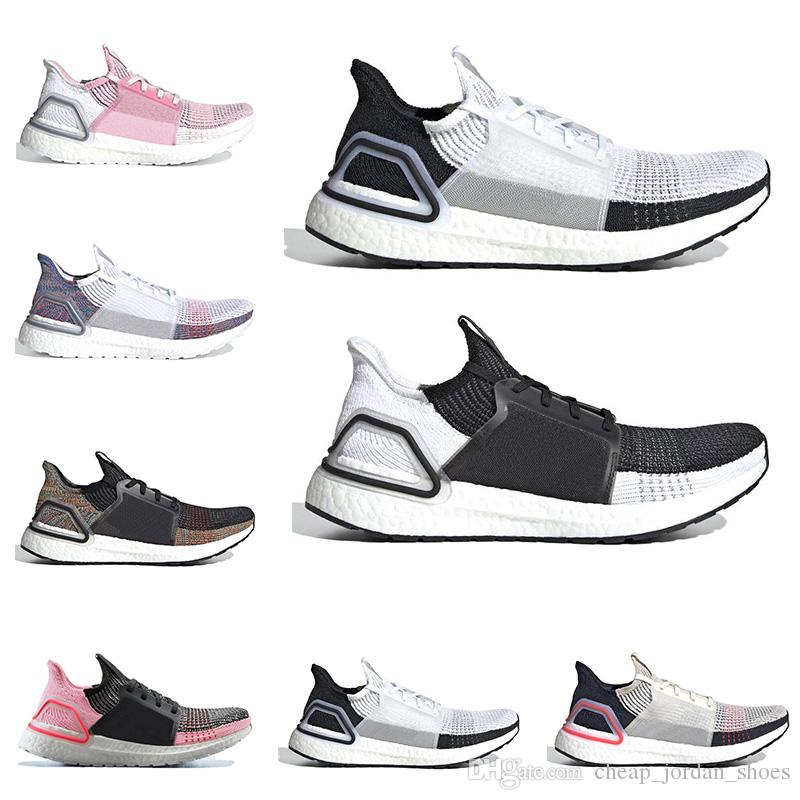 4eed8c8547ce95 2019 New Arrival Ultra Boost Ultraboost 19 Running Shoes for Men Women Oreo  REFRACT True Pink Mens Trainer Breathable Sports Sneakers Ultra Boost  Ultraboost ...