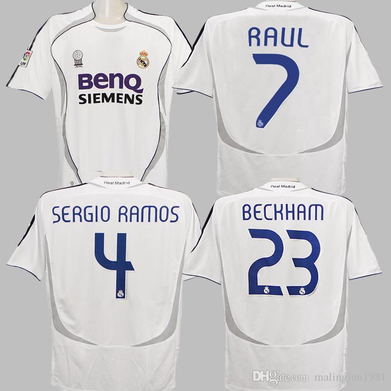 Maglia Calcio Real Madrid Cannavaro Ronaldo 07 06 Raul Da Acquista wEIZqP