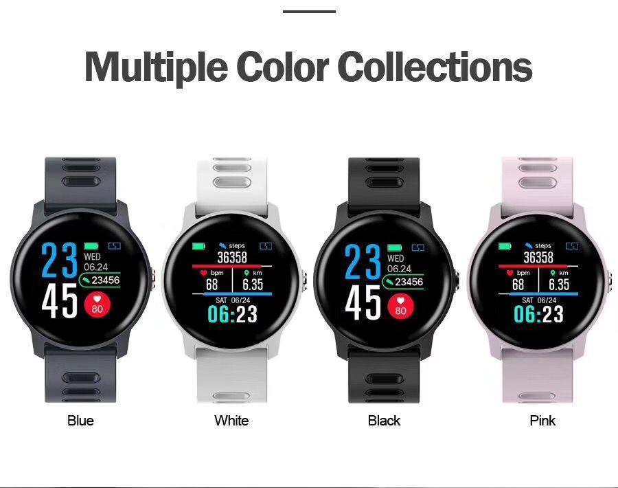 SENBONO S08 IP68 Wasserdichte Smart Watch Männer Fitness Tracker Pulsmesser Smartwatch Frauen Uhr für android IOS Telefon