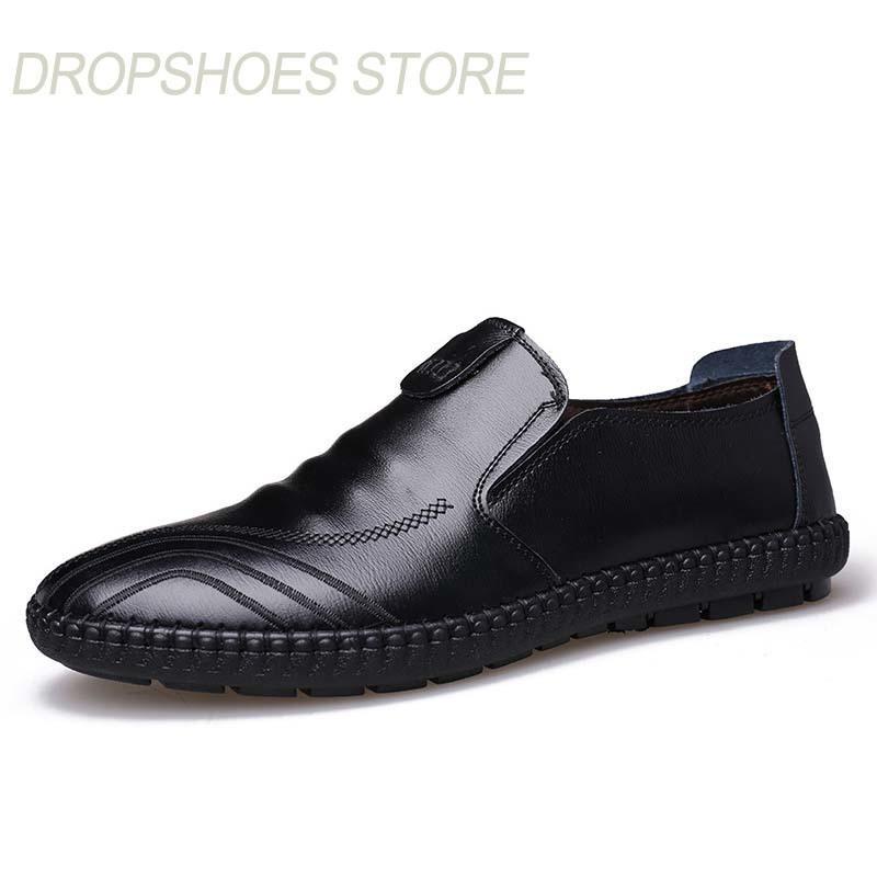 chaussures cuir respirants en hommes casual Nouveau mocassins printemps automne qnwIHZYR