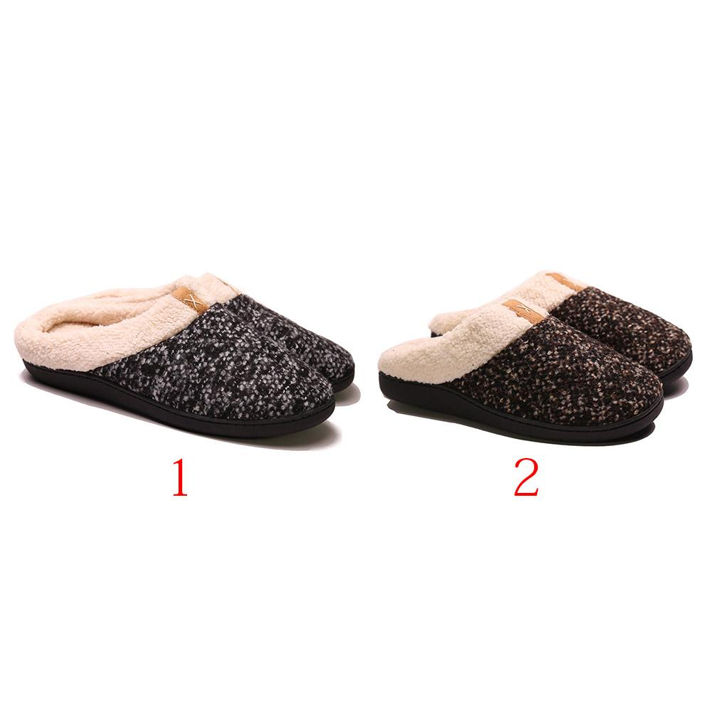 67bea6d95426 Unisex Memory Foam Soft Slippers Non Slip Home Casual Indoor Warm Winter  Men Boots Slipper Boots From Kingless