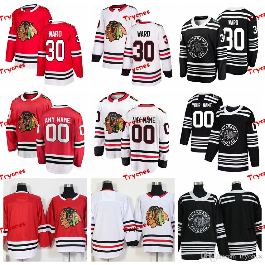 2019 2019 Winter Classic Chicago Blackhawks Cam Ward Stitched Jerseys  Customize Home Red Shirts 30 Cam Ward Hockey Jerseys S XXXL From Tryones 479cba0b2