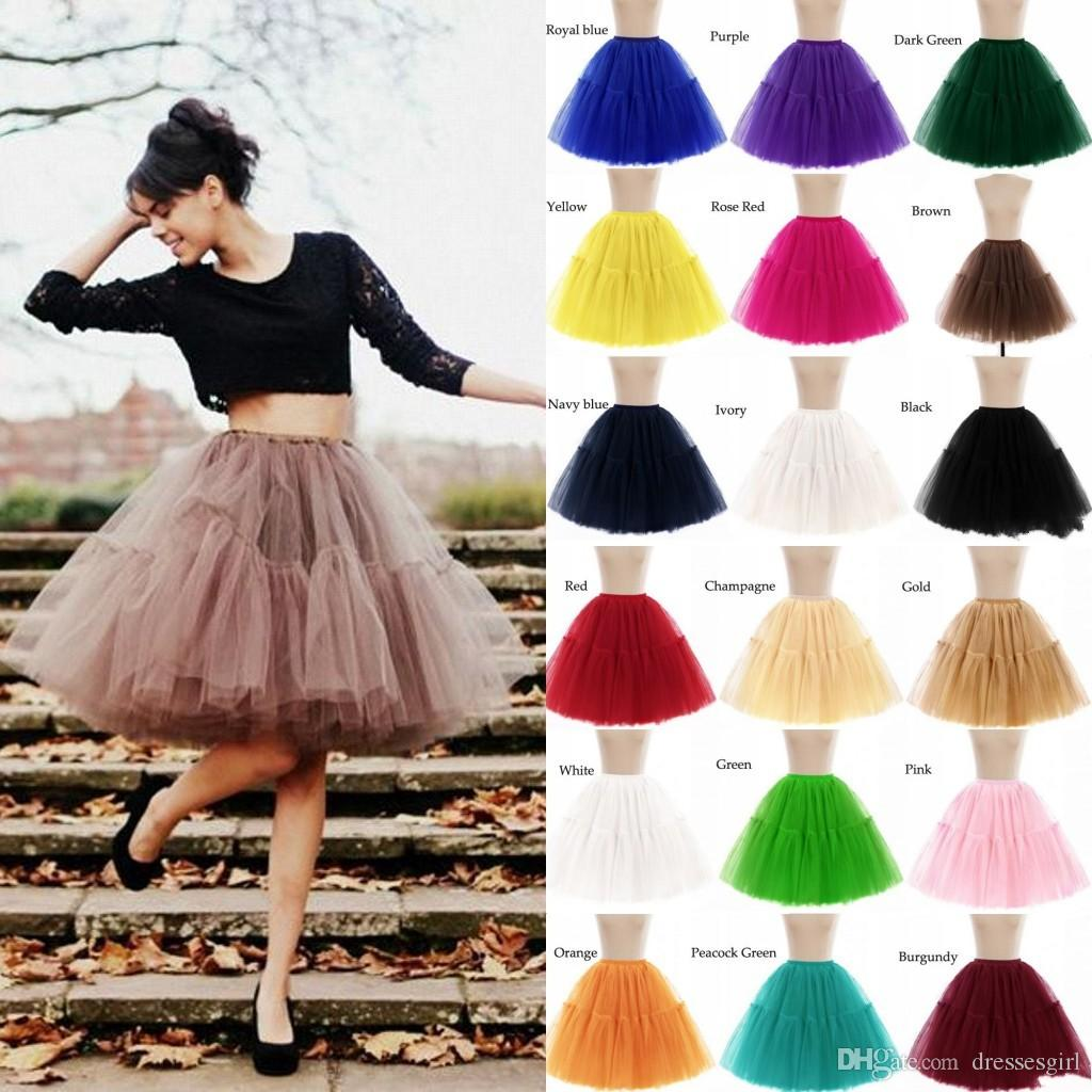 2019 Cheap 6 Layers Petticoats Wedding Underskirt Bridal Ball Gown Tulle Skirts Jupon Puffy TuTu Dress CPA539