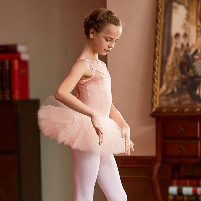 c8a5f289c 2019 Girl Dance Clothing Leotard Lycra Girls Long Sleeve Leotard ...
