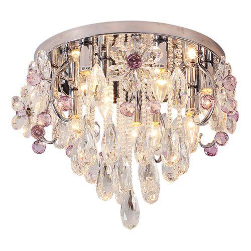 Acheter Nouveau Design Moderne Lustre Plafonds En Cristal Lustres Lampes  Chambre Led Lampes Créatives Mode Plafond Lustres Chauds Luminaires  Luminaires De ...
