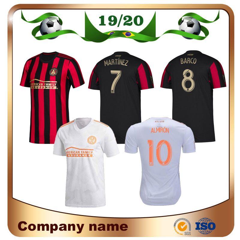 3ce485d5ab0 2019 2019 MLS Atlanta United FC Soccer Jerseys 19 20 Home  10 G.MARTINEZ  Soccer Shirt MARTINEZ BARCO VILLALBA Away Football Uniform From Lxx199198