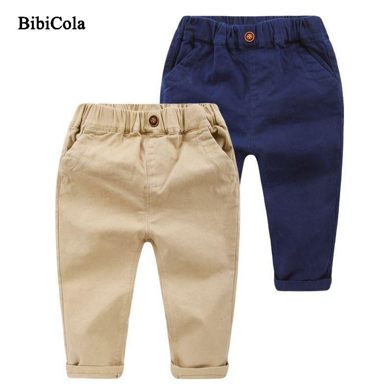 653d925d5c85 Good Quality Children Pants Child S Boys Soft Linen Pants Navy Blue Trousers  Elastic Waist 2019 New Spring Autumn Cartoon Pants Boys Microfiber Pants  Kids ...