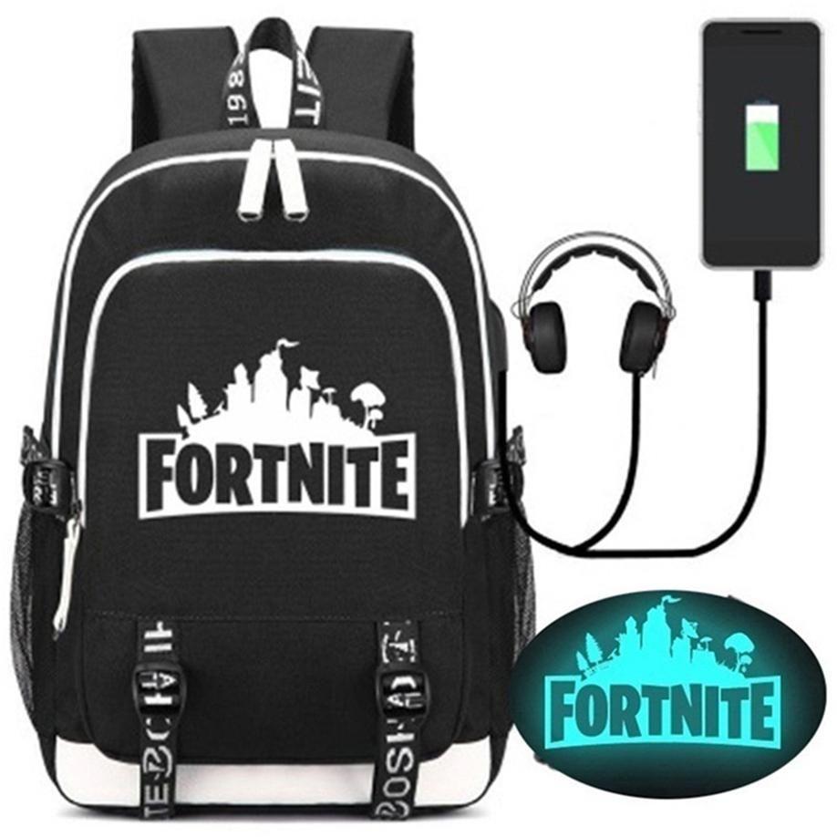 28add81f29df4 Bts Fortnite Night Luminous Backpacks Fortnite School Bags For Boys Girls  Fortnite Printing Shoulders Backpack For Kids Children F20 Rucksack Backpack  Boys ...