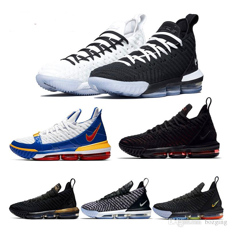 3ae42a4315a 2019 2019 New Lebron 16 Basketball Shoes Arrival Sneakers Lebron 16 LBJ16  Mens Casual King James Multicolor Sports Shoes LBJ EUR 40 46 From Bozging
