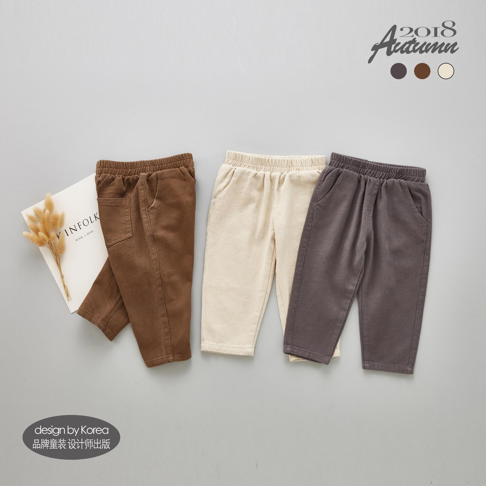 43fcb22cc7b 2019 New Brand Toddler Infant Baby Boys Girls Pants Corduroy Cotton Solid  Color Harem Trousers Bottom Casual Pants Drop Shipping Pull On Khaki Pants  For ...