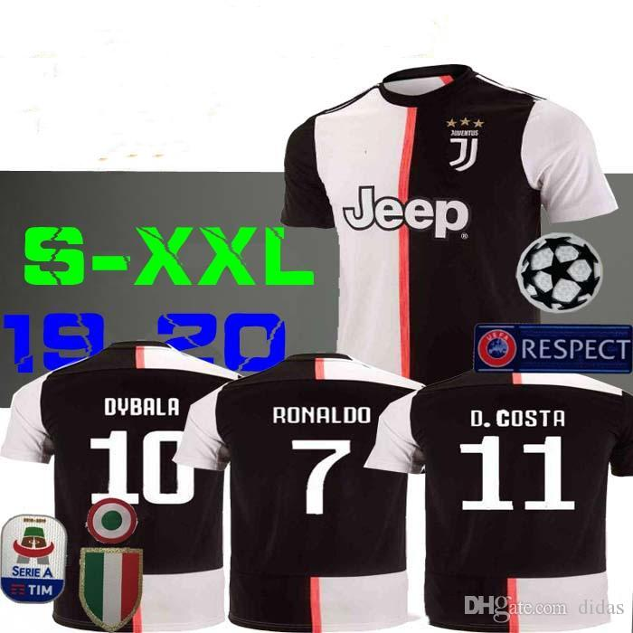 online store 3b0e9 6c0ba 2019 2020 Juventus RONALDO DYBALA 2020 FANS soccer jerseys maillot de  football jerseys camisa de futebol camiseta de futbol BERNARDESCHI