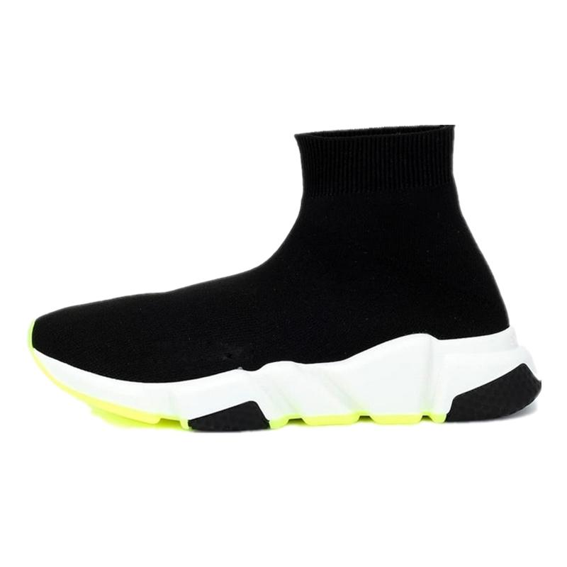 2020 designer socks shoes for men women speed trainer triple black white blue pink glitter mens trainers casual shoe runner eur 36-45