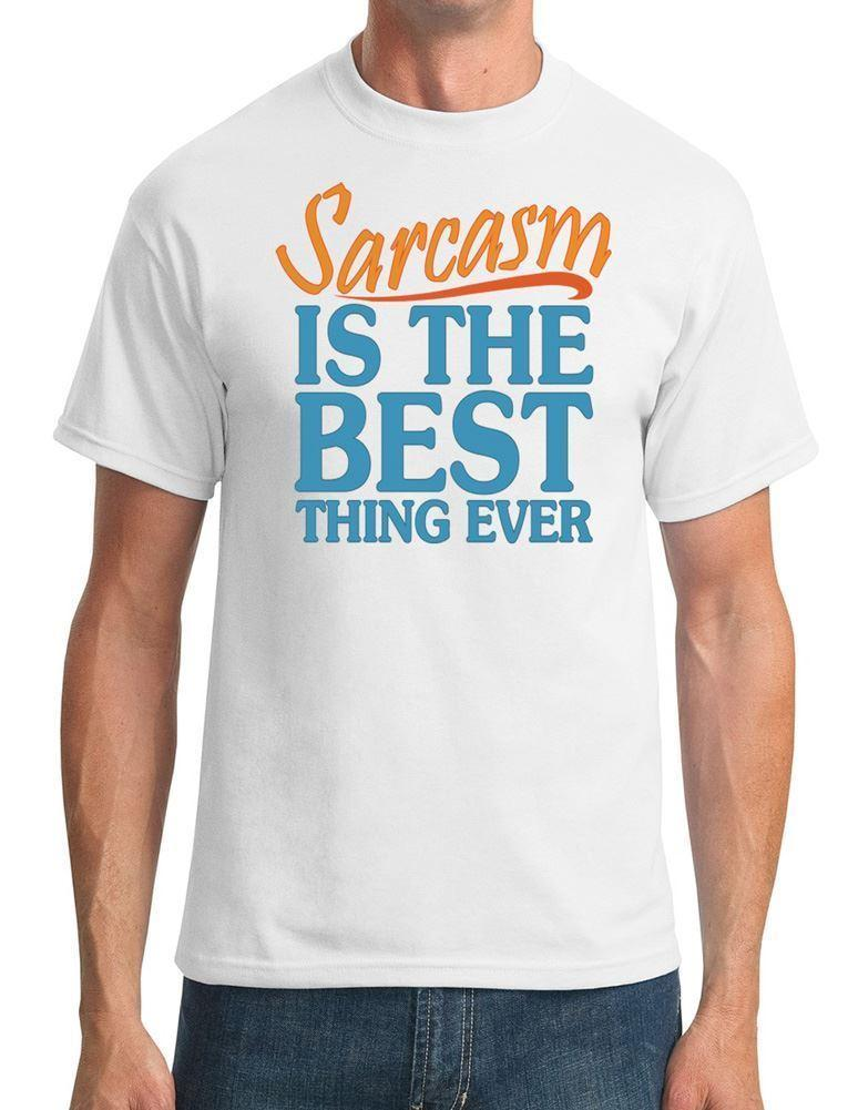 3688f91a Sarcasm Is The Best Thing Ever Funny Mens T Shirt Funny Unisex Casual Top  Cheap Shirts Designer Shirts From Sixpoundtees, $12.96| DHgate.Com