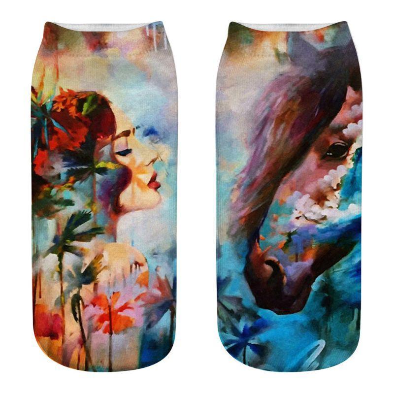 052c2b2c7ebcf Acheter Couples Unisexe Abstrait Belle Femmes Peinture À L huile ...