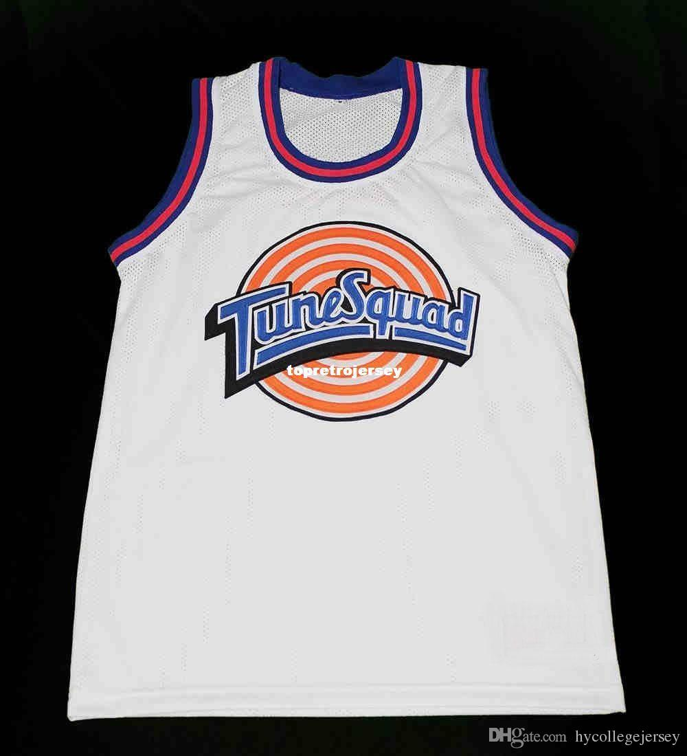 2019 Cheap Mens TAZ TUNE SQUAD SPACE JAM JERSEY WHITE QUALITY NEW ANY SIZE  XS 5XL Retro Basketball Jerseys From Hycollegejersey cb04369e4