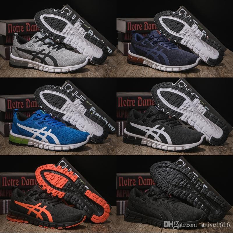 détaillant en ligne a9dec fc1d3 Best Quality Asics Gel-Quantum 90 Mens Running Shoes Balck Orange Men Women  Designer Shoes Sport Sneaker EUR 40-45