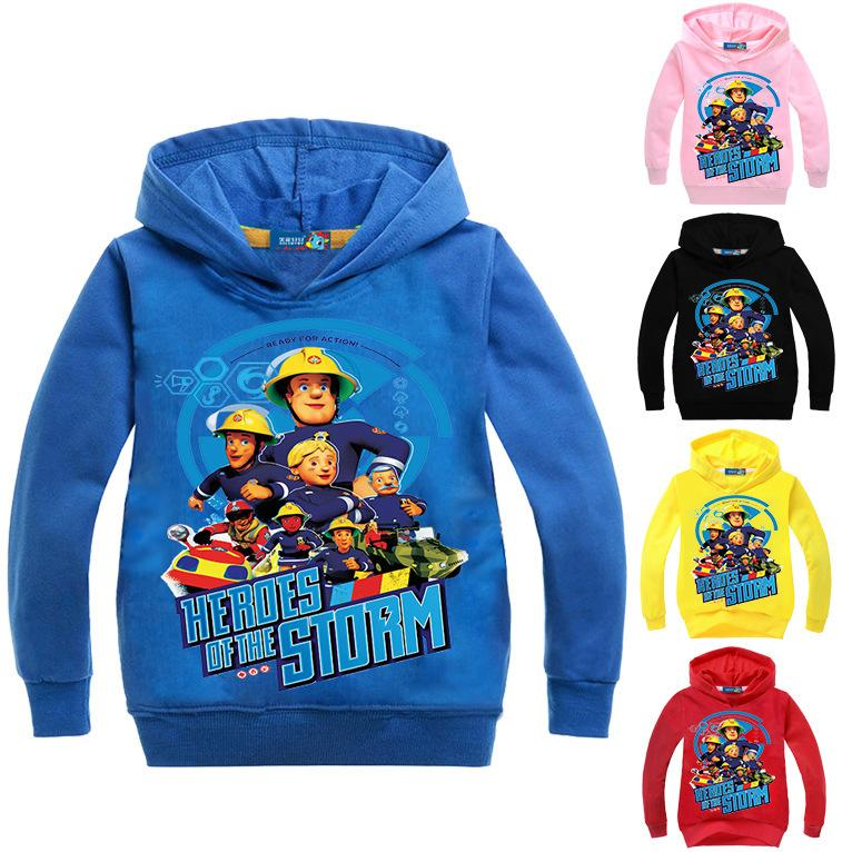 Compre ZY 3 16Years Fireman Sam Ropa Trajes Abrigo Con Capucha Baby Boy  Jumper Para Niños Chica Ropa Imprimir Outwear De Dibujos Animados N07626 A   17.14 ... b3fade4374a5