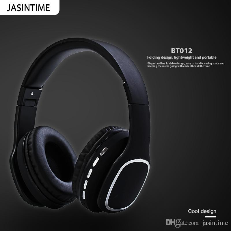 92f1d89a985 JASINTIME Chinese Factory Headphone, Model BT012, Sports, Computer, Bluetooth  Headphone, Support Radio, TF Function, Easy To Fold And Carry Best Earbuds  ...