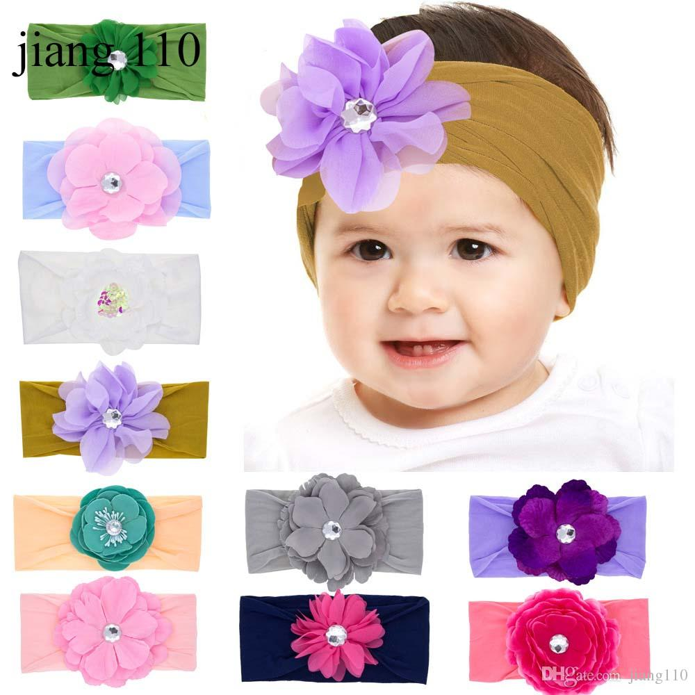Baby Girl Headband Large Daisy Baby Shower Gift Daisy Hair Clip Floral Daisy Daisy Felt Daisy
