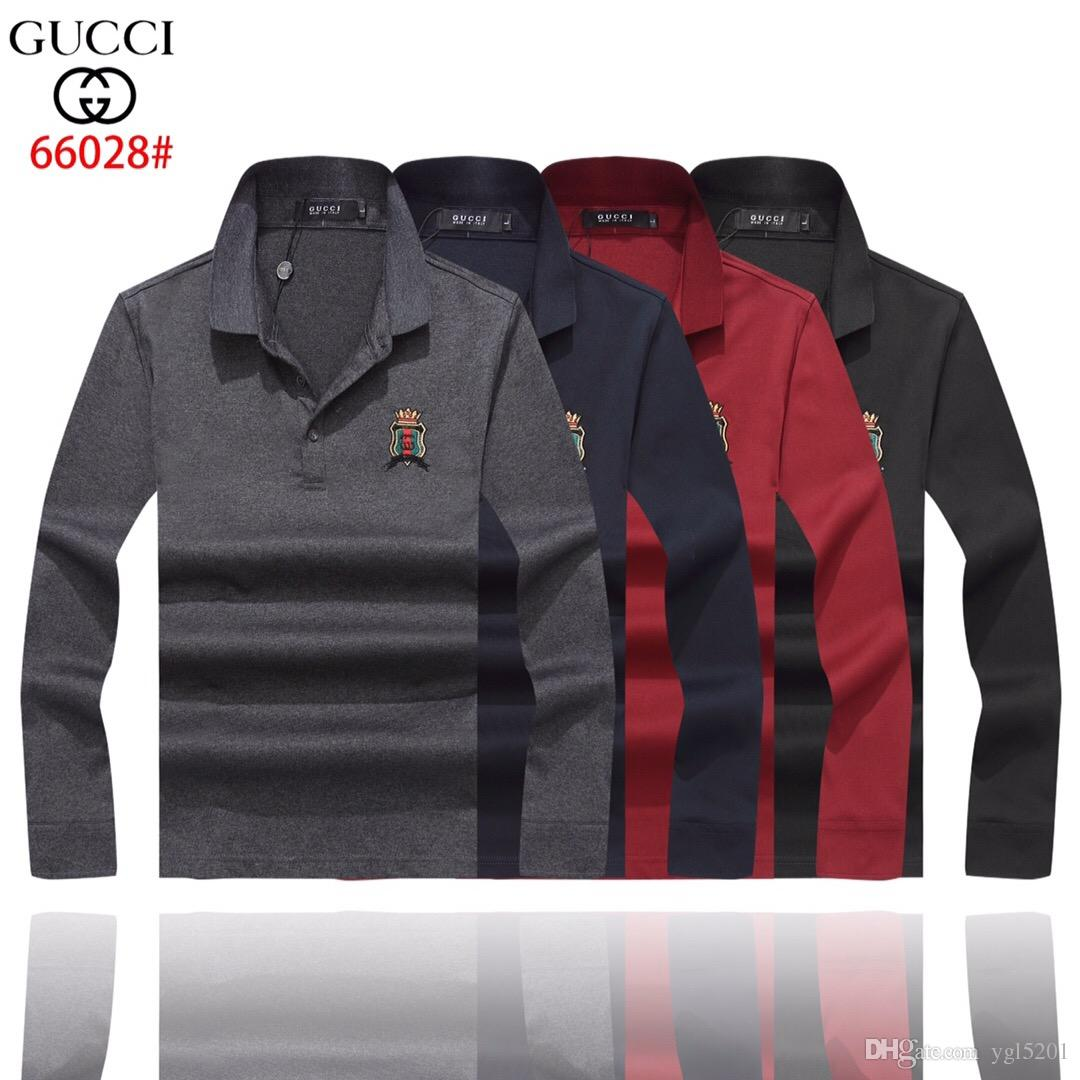70763f07748 New Luxury Brand Bees Designer Men Polo Shirts Gg005 Italy Fashion ...
