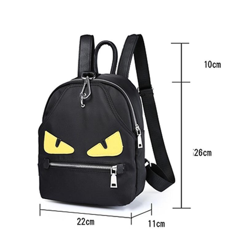 Philippine Shoulder Bag 2018 New Small Monster Oxford Cloth Backpack ... af73e23b262c1