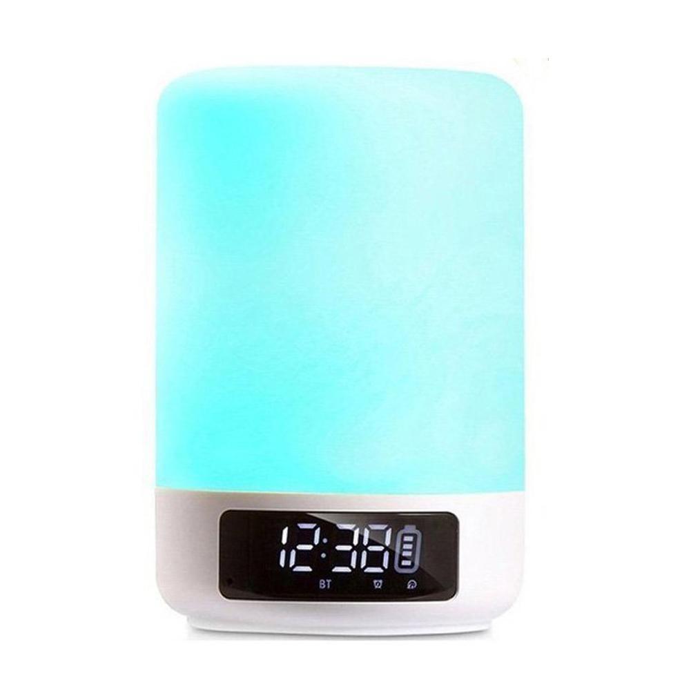 Haut Bluetooth Contrôle Rvb Couleur Lumière Lampe Tactile D'enfantsOnglet Changeante Led La Mode Nuit De Parleur Chevet 3AjLq45R