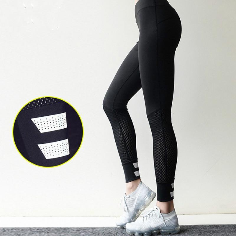 3411d864d5f3b 2019 Autumn Winter New Sports Yoga Pants Trousers Foot Reflective ...