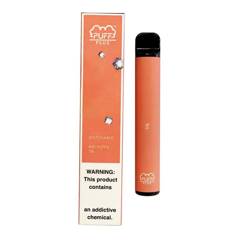 High quality Puff Bar Plus Disposable Vape Pens 3.2ml Capacity 550mAh Battery Starter Kit with valid Code