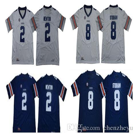 2b91dd8cd Men s NCAA Auburn Tigers Jerseys 8 Jarrett Stidham 2 Cam Newton White Navy  Blue College Football Jerseys Auburn Tigers Jerseys College Jerseys Football  ...