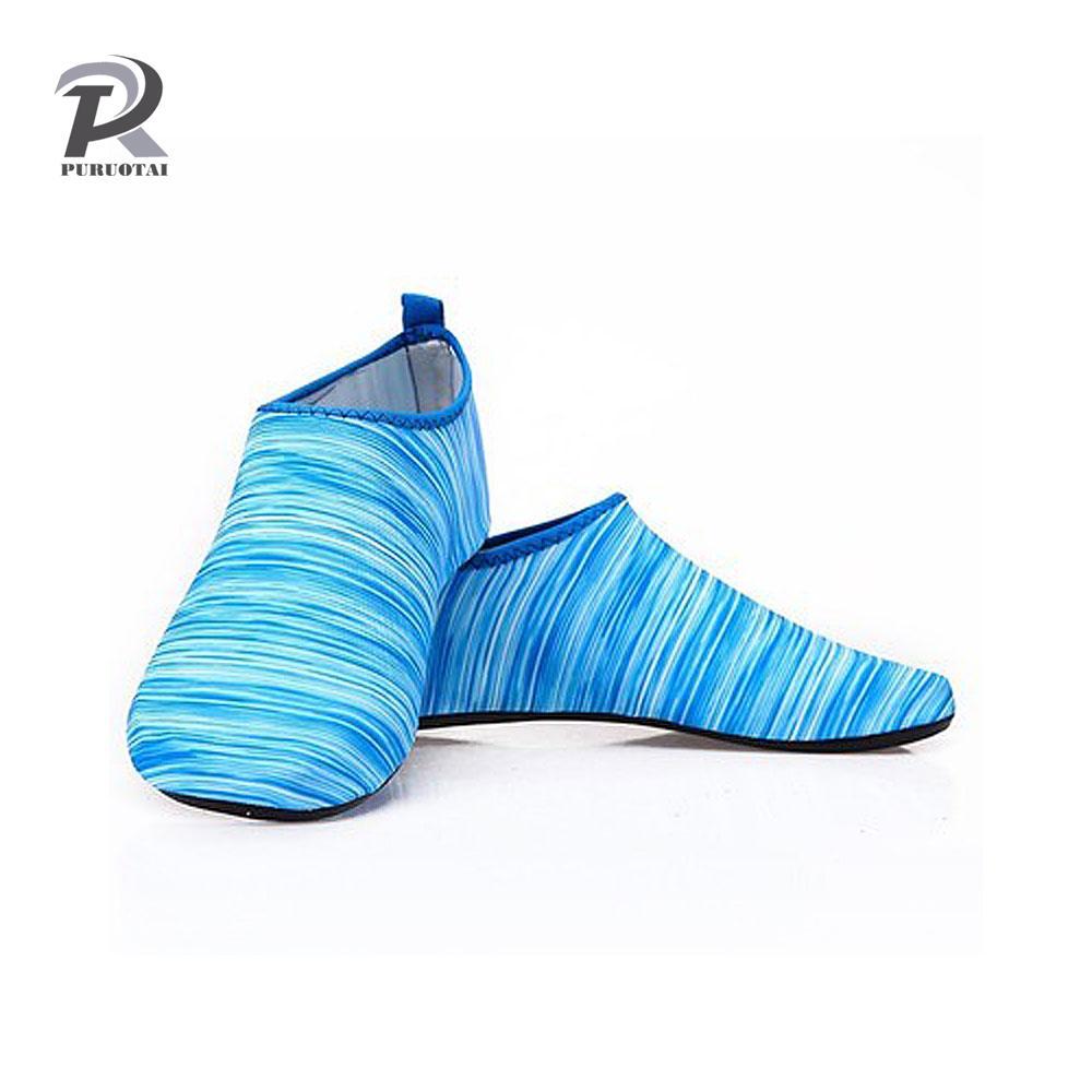 46467d3530c1 2019 Aqua Diving Socks Snorkel Suit Scuba Boot Water Swim Beach Wade Swim  Shoes Sneakers Men Women Snorkeling Wading Shoes 3MM From Suipao