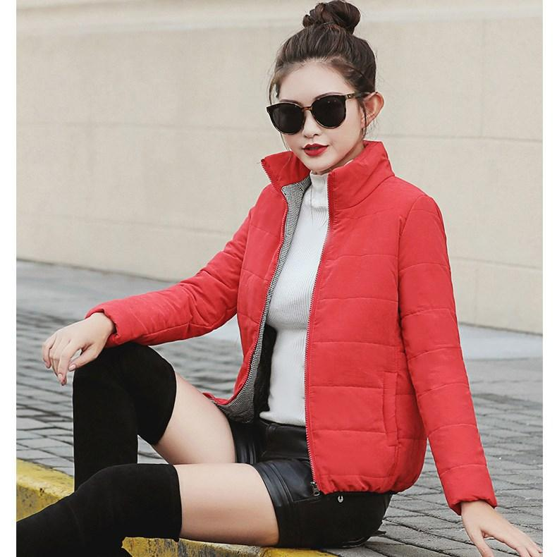 Basic Jackets Jackets & Coats The Best 2018 Women Winter Ultra Light Cotton Jacket O Neck Long Sleeve Warm Slim Coat Parkas Female Short Outwear Coat New Top Spare No Cost At Any Cost