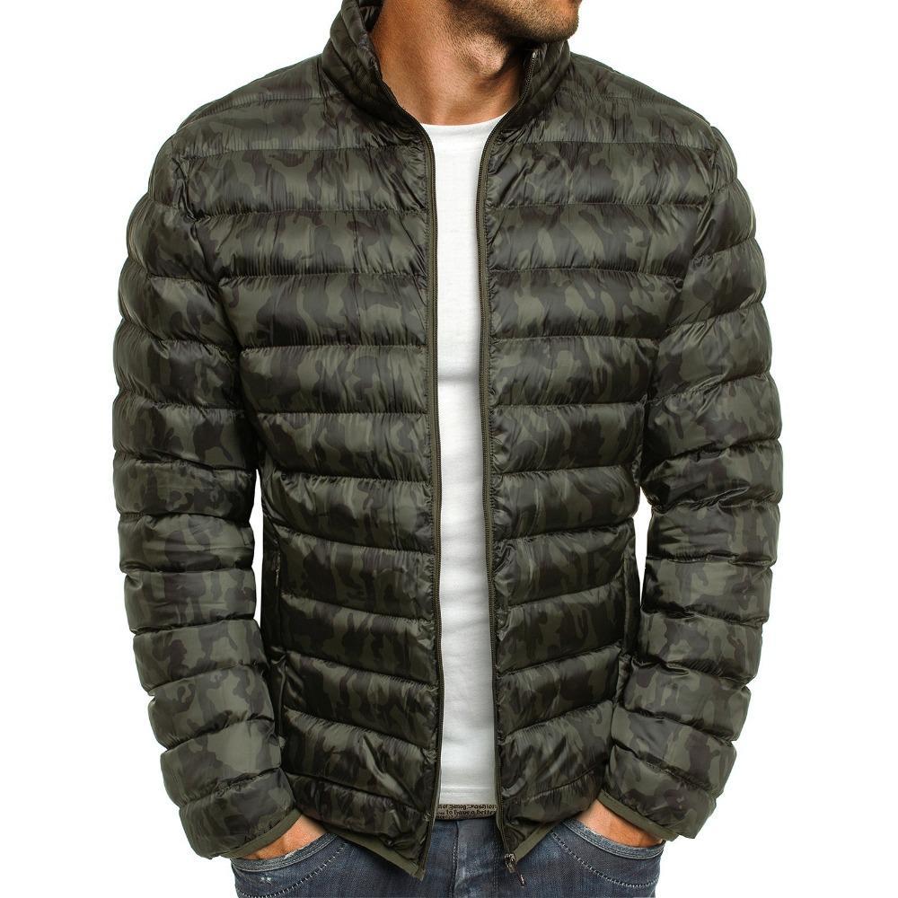 2019 Zogaa Fashion Men Clothes 2019 Warm Cotton Parkas Trench Coat