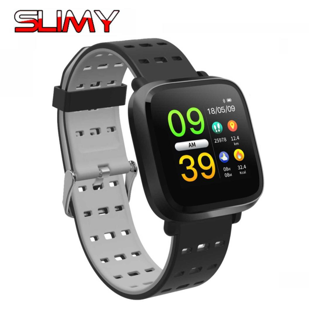 Slimy Y8 P67 Waterproof Smart Watch Support Multi-sports Modes Blood  Pressure Oxygen Heart Rate Monitor Wristwatch PK Q3 Q8 Q9