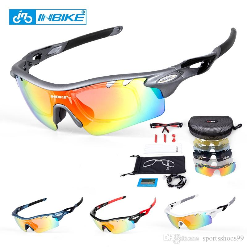 9841d100bdc 2019 INBIKE Polarized Cycling Bike Sun Glasses Outdoor Sports Bicycle Bike  Sunglasses TR90 Goggles Eyewear 5 Lens Bicycle Accessory  221949 From ...