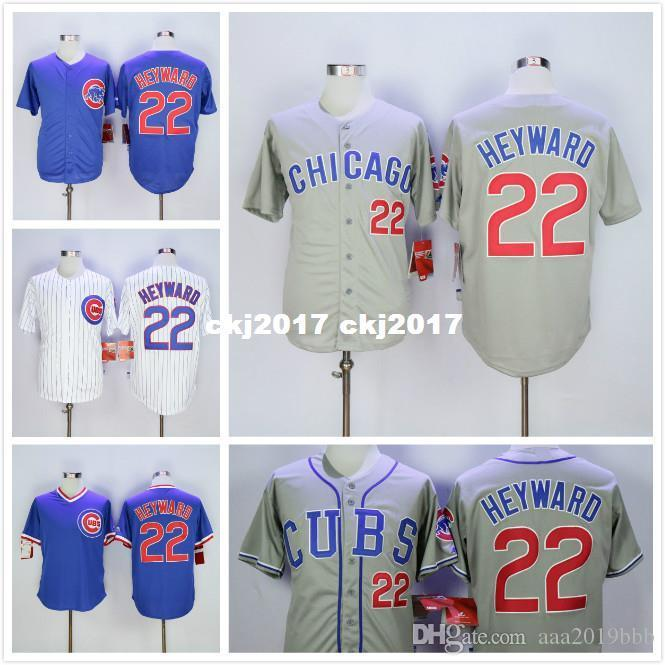huge selection of dddf0 7fab4 22 Jason Heyward Jersey Gray Blue White