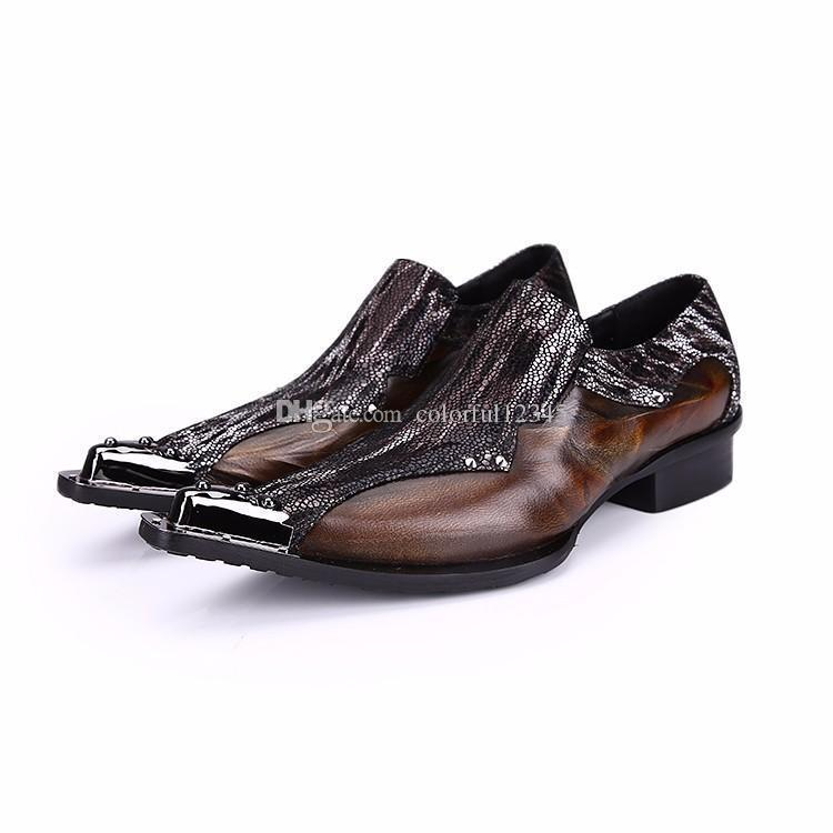 3b5ef1900bee Sexy2019 Pop Men Formal Leather Shoes Quality Mens Dress Oxfords Flats Plus  Size Womens Sandals Orthopedic Shoes From Bellebeast