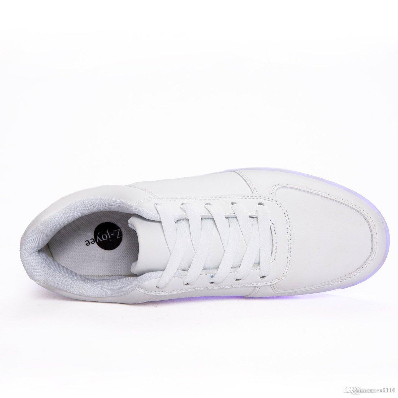 9d498f9ca9 Compre Nuevo LED Light Up Shoes Zapatillas De Deporte De Moda Para ...