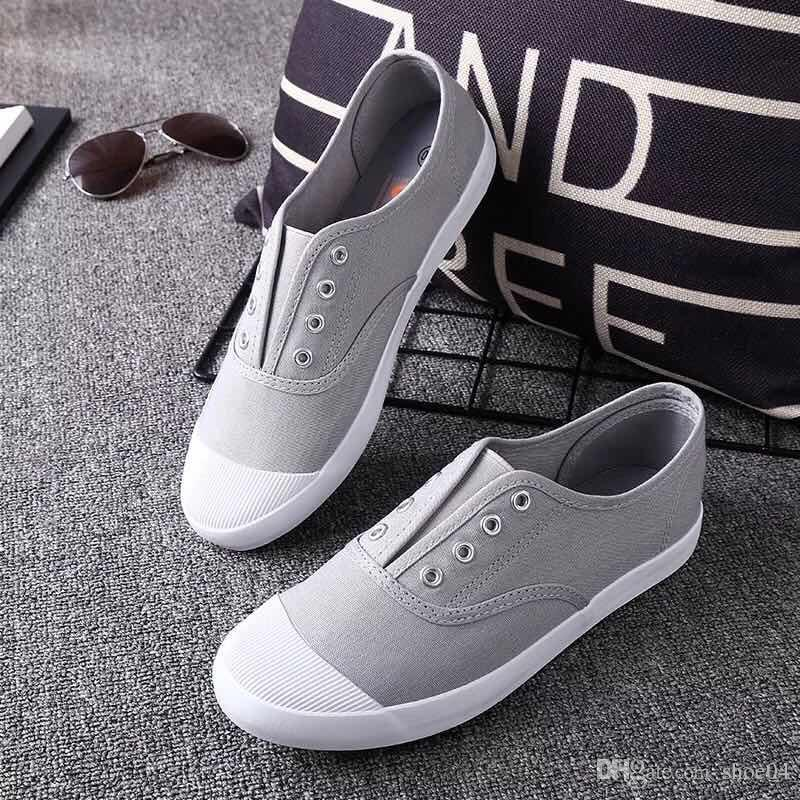 6e34c8e26 Woman Casual Shoes Sneaker Flat Trainers Walking Sports Trainers Canvas  Shoes Rubber Sole Eu 35 40 With Box 01 Women Shoes Mens Sandals From  Shoe04