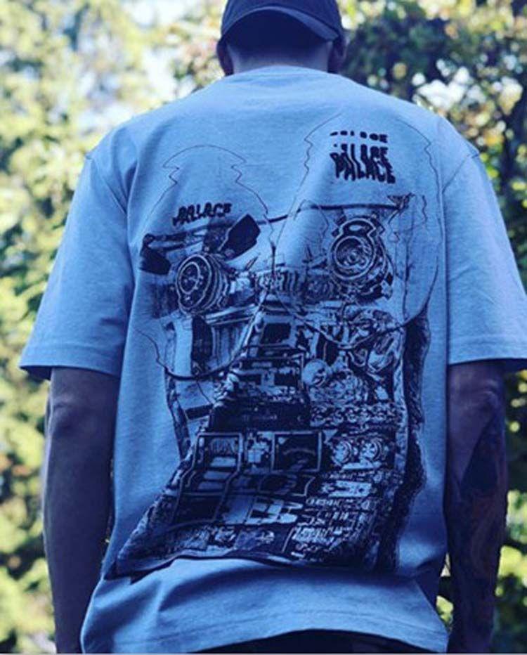 22d7da4cb8d289 Acquista T Shirt Uomo Donna Allentata Magliette Uomo T Shirt 2019 Estate  Nuovo Triangolo Registratore Fan Deformazione Fumetti Logo T Shirt Uomo  Donna ...