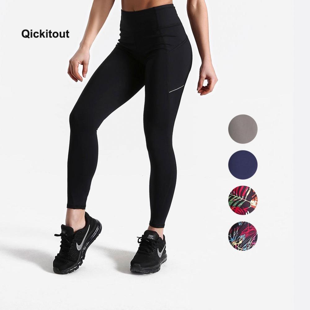 e3fffa22bbfc1 2019 Women Summer Fitness Leggings Pockets High Waist Plus Size Workout  Exercise Street Wear Pants Q190419 From Shen8403, $22.12 | DHgate.Com