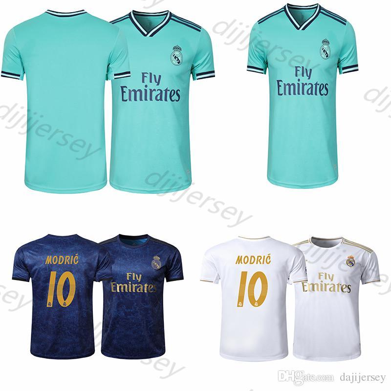 sneakers for cheap e63f1 9209c Real madrid Jerseys 2019 2020 Isco soccer jersey SERGIO RAMOS MODRIC BALE  football shirt uniforms kit 19 20 camisetas sports