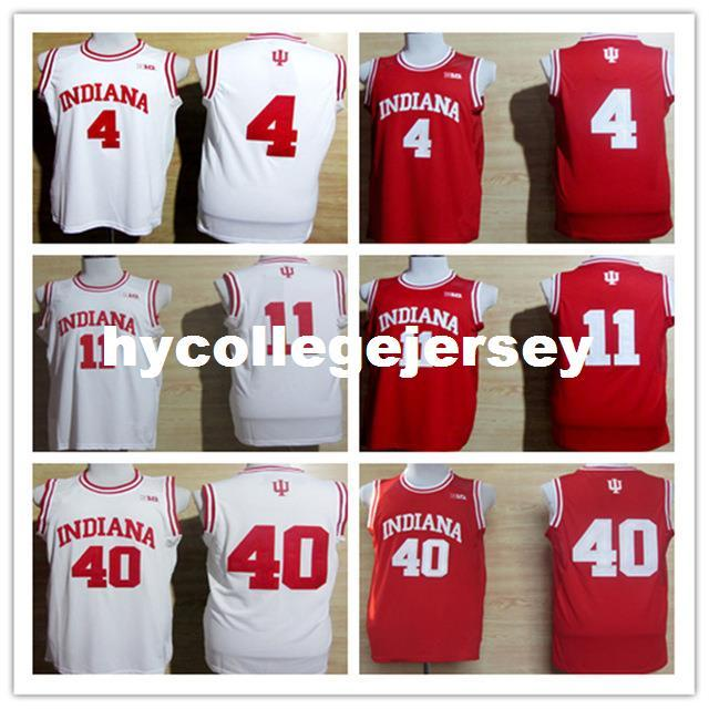 beb9e1b7c 4 Victor Oladipo Hoosiers College Basketball Jersey Embroidery ...