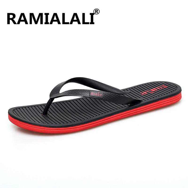 69d7d981b848 New Men S Flip Flops Men S Summer Slippers Fashion Men Sandals Beach Shoes  Casual Non Slip Water Slippers Rain Boots Mens Shoes From Nevada