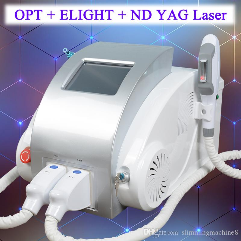 Opt Shr Fast Laser Hair Removal Nd Yag Laser Tattoo Removal Q Switched Machine Breast Lift Up